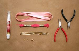 Tự làm vòng đeo tay chuỗi ngọc dễ thương 2