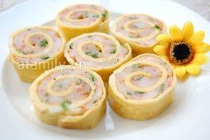 Trứng cuộn tôm lạ miệng ngon cơm 7