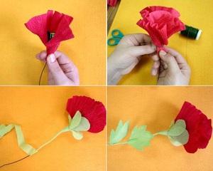 Kết quả hình ảnh cho làm hoa poppy