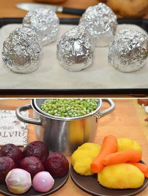 Cách làm salad tím hồng lãng mạn cho bữa tối 3
