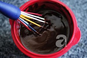 Không cần lò nướng, làm bánh chocolate cực ngon 5
