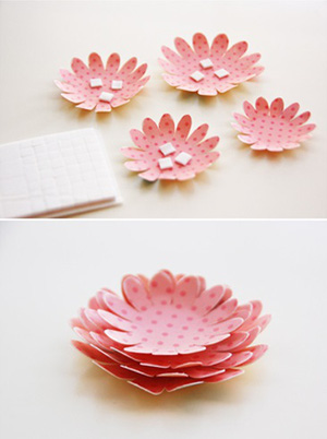 Tự làm thiệp nổi hoa giấy giản dị và xinh xắn! 4