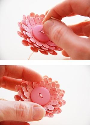 Tự làm thiệp nổi hoa giấy giản dị và xinh xắn! 6