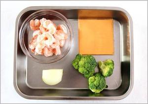 Món ngon cho bé: Cháo tôm bông cải phô mai 2