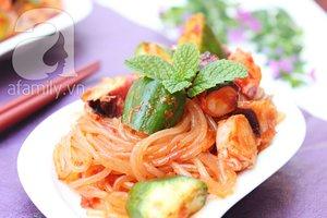 Salad bạch tuộc giòn ngon lạ miệng 9