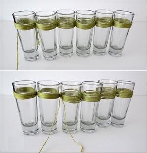 Biến ly thủy tinh thành bình cắm hoa độc đáo 5