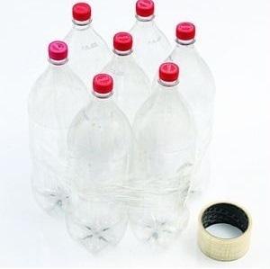 Tái chế vỏ chai nhựa thành chiếc ghế ngộ nghĩnh 1