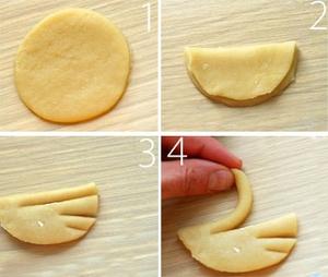 Làm bánh quy bơ hình thiên nga cực xinh 3