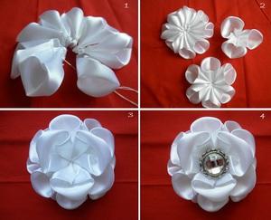 2 cách làm hoa vải gắn phụ kiện thật dễ thương 4