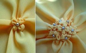 2 cách làm hoa vải gắn phụ kiện thật dễ thương 7