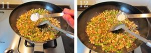 Cách làm bánh tiêu kẹp thịt cực ngon 7