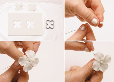 Làm hoa cẩm tú cầu đẹp như hoa thật 5