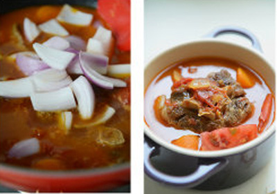 Món ngon cuối tuần: Đuôi bò hầm cà chua 14