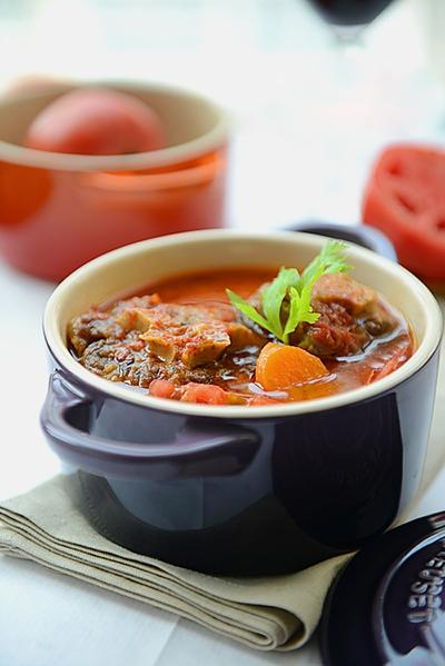 Món ngon cuối tuần: Đuôi bò hầm cà chua 16