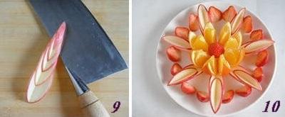 Hướng dẫn cách bày hoa quả sinh động và hấp dẫn 11