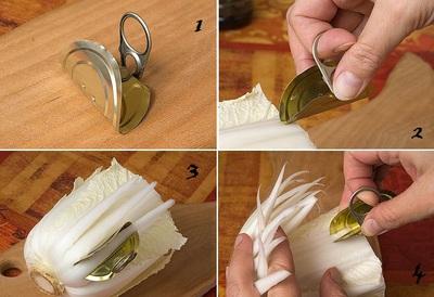 Tỉa hoa cúc từ rau cải thảo thật dễ dàng! 5