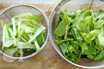 Bổ sung vi chất cho cả nhà với món rau xào giản dị 5