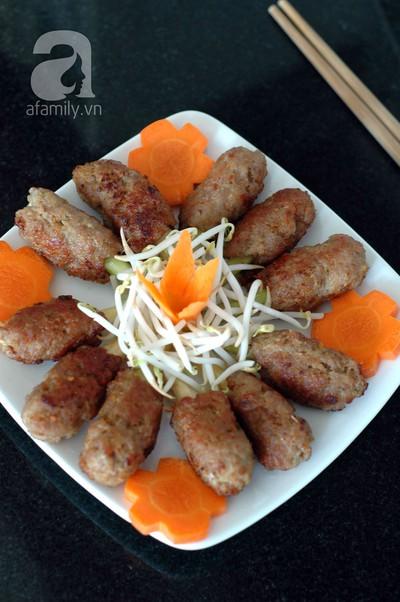 Thịt cuốn sả thơm phức ngon cơm ngày gió lạnh 13