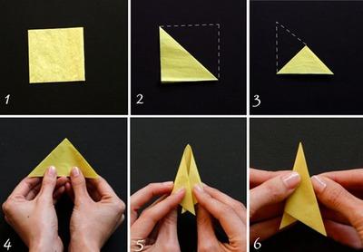 3 bước đơn giản làm hoa thủy tiên giấy 6