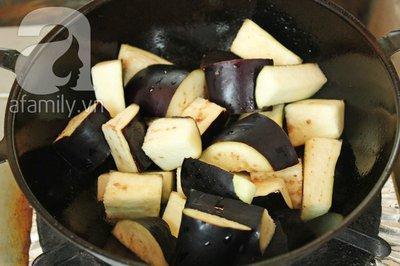 Đầu tháng, ăn chay ngon với đậu phụ kho cà tím 11