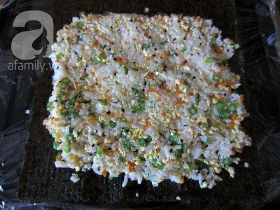 Cuối tuần đổi món với cơm cuộn giản dị mà đẹp mắt 13