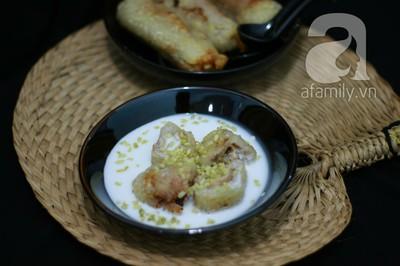 Chè chuối cốm ngọt thơm hương vị mùa thu 19