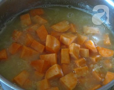 Cách nấu chè khoai tuyệt ngon cho ngày lạnh 14