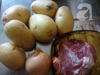 Khoai tây xào thịt băm giản dị mà ngon 3