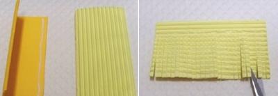 Cách làm hoa cúc giấy vàng rực đượm sắc thu 5