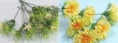 Cách làm hoa cúc giấy vàng rực đượm sắc thu 9
