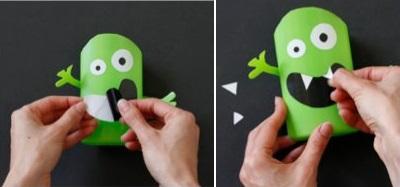 Tự chế ống đựng bút ngộ nghĩnh từ vỏ chai nhựa 9