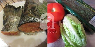 Nóng hổi ngọt thơm món canh cá nấu thì là 3