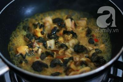 Món ngon cuối tuần: Ốc nấu chuối đậu 17