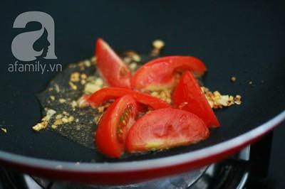 Món ngon cuối tuần: Ốc nấu chuối đậu 20