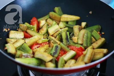Món ngon cuối tuần: Ốc nấu chuối đậu 21