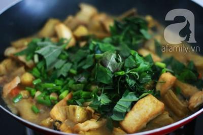 Món ngon cuối tuần: Ốc nấu chuối đậu 27
