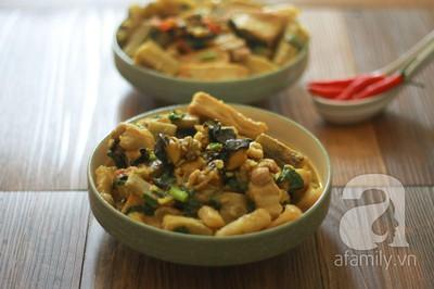 Món ngon cuối tuần: Ốc nấu chuối đậu 28