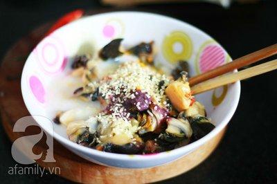 Món ngon cuối tuần: Ốc nấu chuối đậu 8