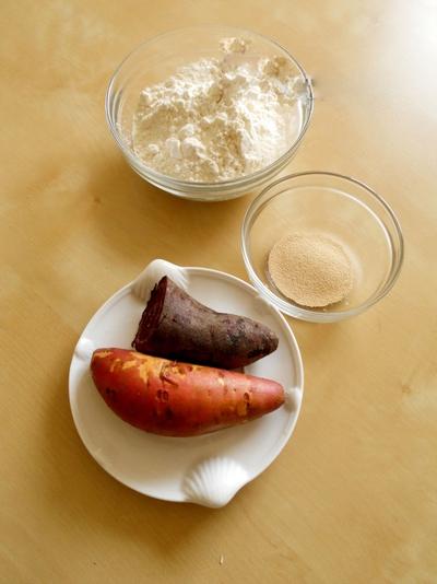 Bánh khoai 3 màu siêu độc đáo và hấp dẫn 2