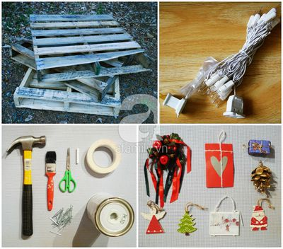 Tự chế cây thông Noel lung linh đón Giáng Sinh 3
