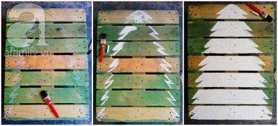 Tự chế cây thông Noel lung linh đón Giáng Sinh 5