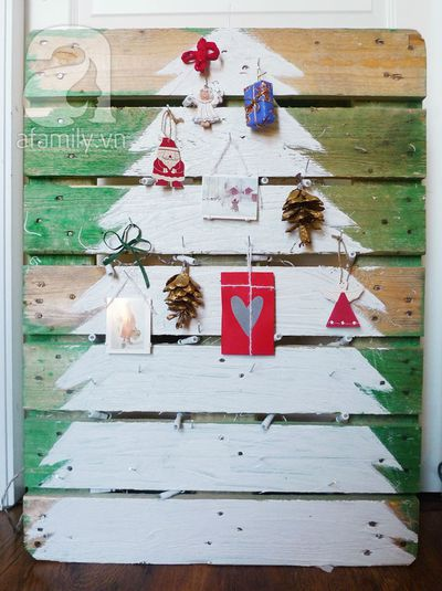 Tự chế cây thông Noel lung linh đón Giáng Sinh 9