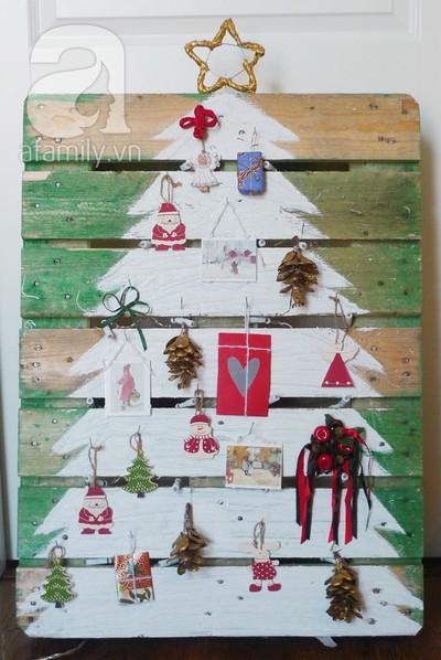 Tự chế cây thông Noel lung linh đón Giáng Sinh 10