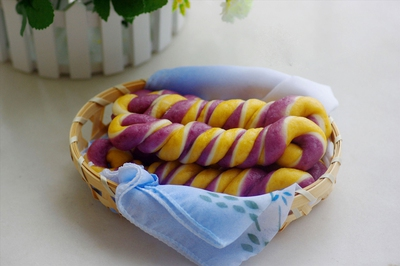 Bánh khoai 3 màu siêu độc đáo và hấp dẫn 12