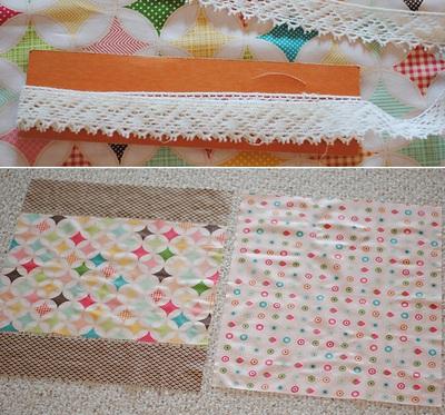 Cách làm chăn chần bông đẹp như chăn ghép vải 3
