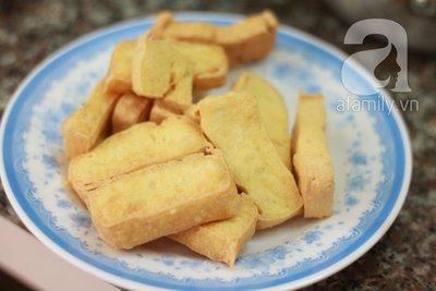 Dưa xào đậu phụ giản dị ngon cơm 7