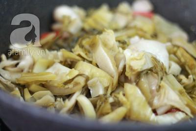 Dưa xào đậu phụ giản dị ngon cơm 12