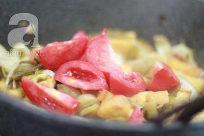 Dưa xào đậu phụ giản dị ngon cơm 17