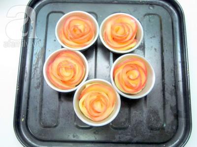 Valentine lãng mạn với tart hoa hồng đẹp mắt 20