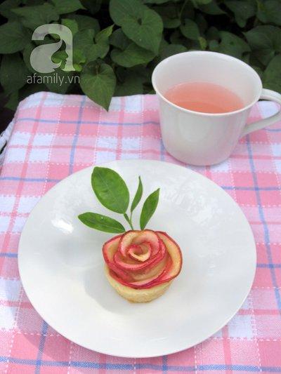 Valentine lãng mạn với tart hoa hồng đẹp mắt 21